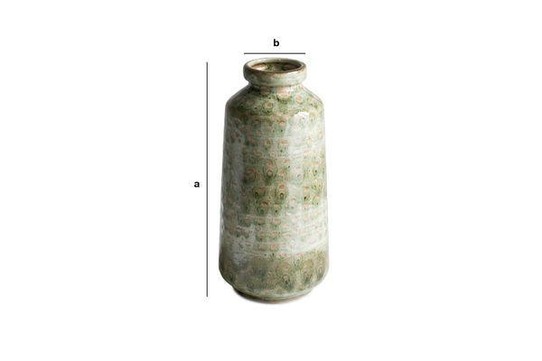 Dimensioni del prodotto Vaso in ceramica Eva
