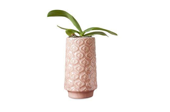 Vaso in ceramica rosa Aurore Foto ritagliata