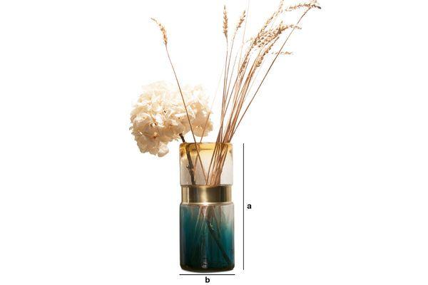 Dimensioni del prodotto Vaso in vetro Brassbelt