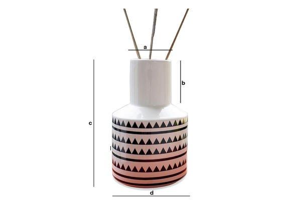 Dimensioni del prodotto Vaso Nora