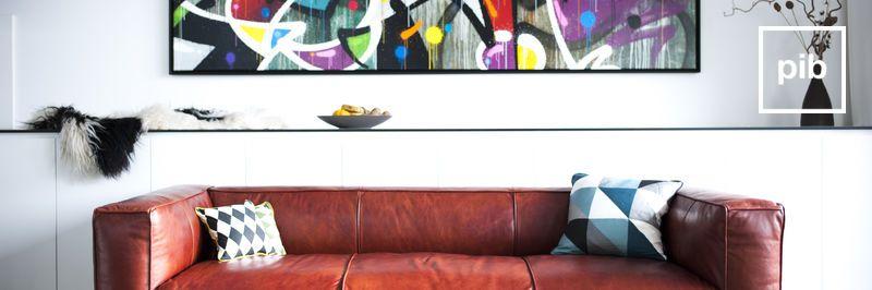 Vecchia collezione di divani moderni scandinavi