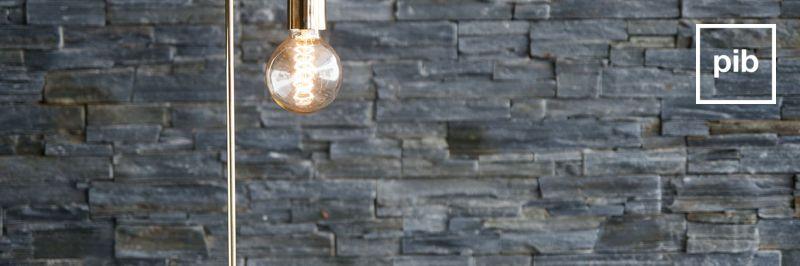 Vecchia collezione di lampade da tavolo moderne scandinave