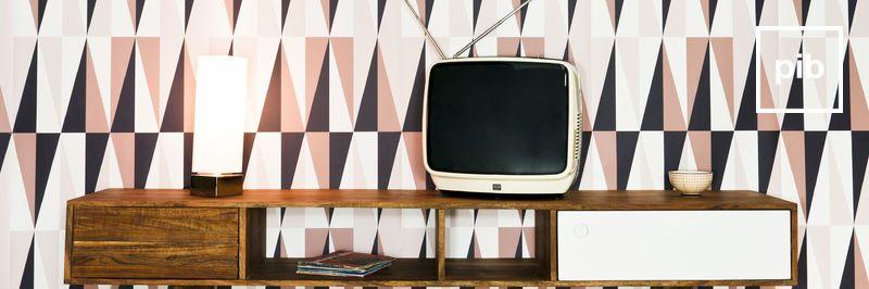 Vecchia collezione di mobile tv moderno scandinavo